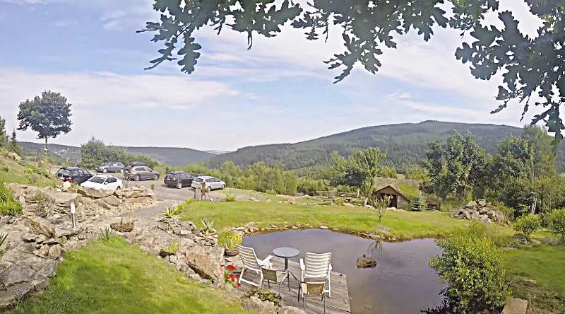 widok z villi aleksander panorama wykonany przez gości